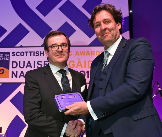 Gaelic as an Economic Asset Award - Angus Campbell