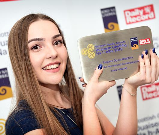 Young Gaelic Ambassador of the Year Award - Lucy Hannah